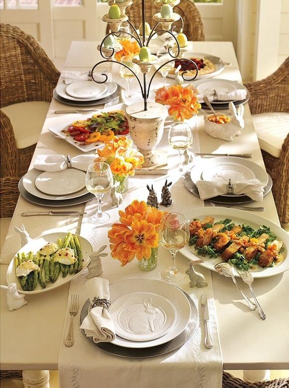 Almo o de p scoa como decorar a mesa ariane benatti for Mesas puestas con estilo