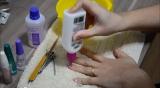 Fazendo as unhas